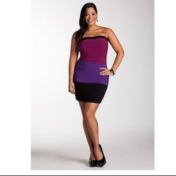 3869c6a9ca9 Ashley Stewart Bodycon Strapless Dress Size 2x